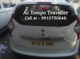 renault lodgy car hire delhi