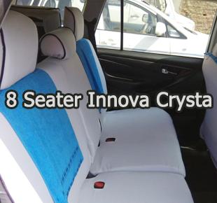 8 Seater Toyota Innova Crysta Car Hire Delhi Chardham Yatra Tour