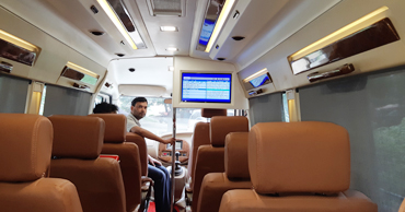 chardham yatra tour by 11+1 seater deluxe 1x1 tempo traveller